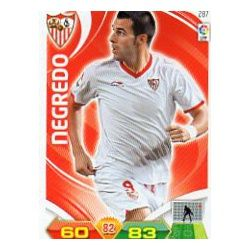 Negredo Sevilla 287 Adrenalyn XL La Liga 2011-12