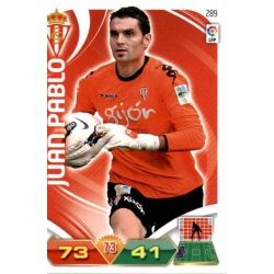 Juan Pablo Sporting 289 Adrenalyn XL La Liga 2011-12
