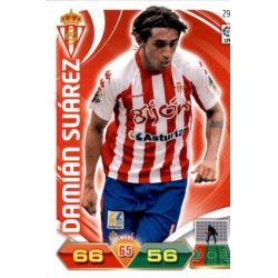 Damián Suárez Sporting 291 Adrenalyn XL La Liga 2011-12