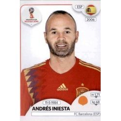 Andrés Iniesta España 146