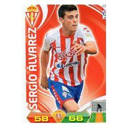 Sergio Álvarez Sporting 299 Adrenalyn XL La Liga 2011-12