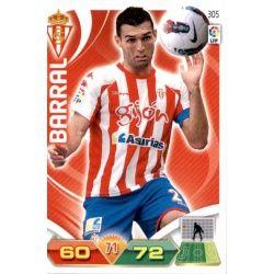 Barral Sporting 305 Adrenalyn XL La Liga 2011-12