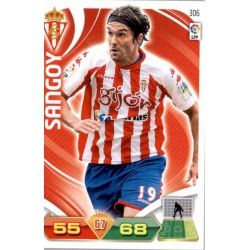 Sangoy Sporting 306 Adrenalyn XL La Liga 2011-12