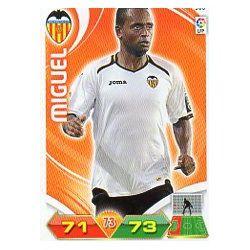 Miguel Valencia 308 Adrenalyn XL La Liga 2011-12