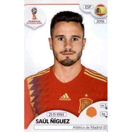 Saul Ñiguez España 148 Spain
