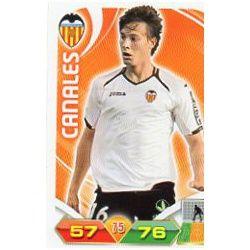Canales Valencia 318 Adrenalyn XL La Liga 2011-12