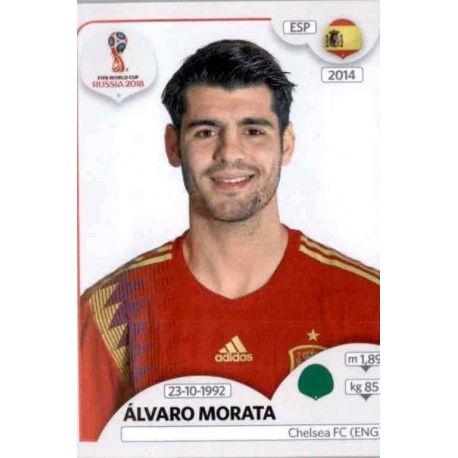 Álvaro Morata España 149 Spain