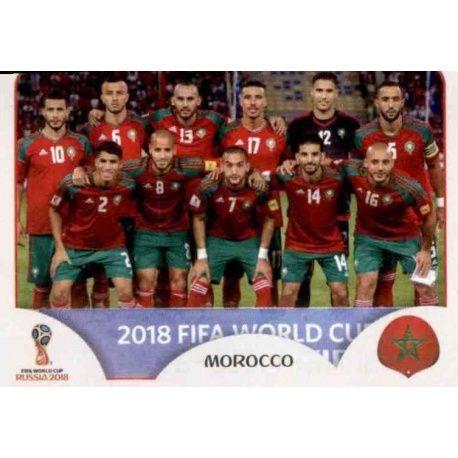 Alineación Marruecos 153 Morocco