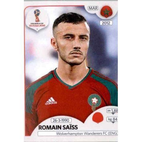 Romain Saïss Marruecos 157 Marruecos