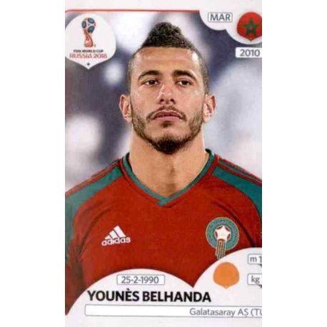 Younès Belhanda Marruecos 163 Marruecos
