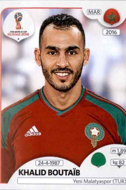 Panini WM 2018 World Cup Russia Spanien Sticker 143 Isco