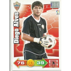 Diego Alves Almeria 1 Adrenalyn XL La Liga 2010-11