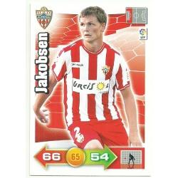 Jakobsen Almeria 7 Adrenalyn XL La Liga 2010-11