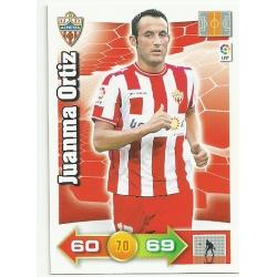 Juanma Ortiz Almeria 8 Adrenalyn XL La Liga 2010-11