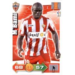 M'Bami Almeria 9 Adrenalyn XL La Liga 2010-11