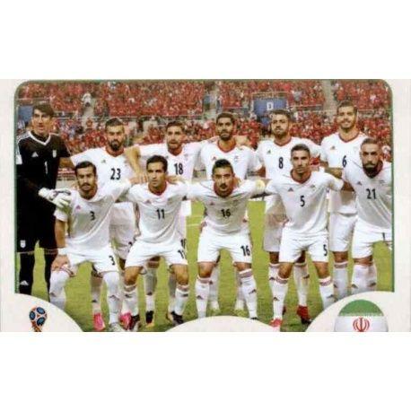 Alineación Irán 173 Irán