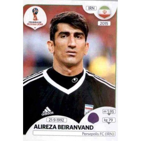 Alireza Beiranvand Irán 174 Irán