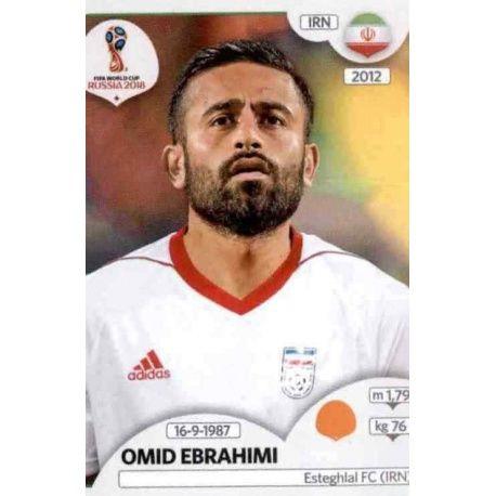 Omid Ebrahimi Irán 182 Irán