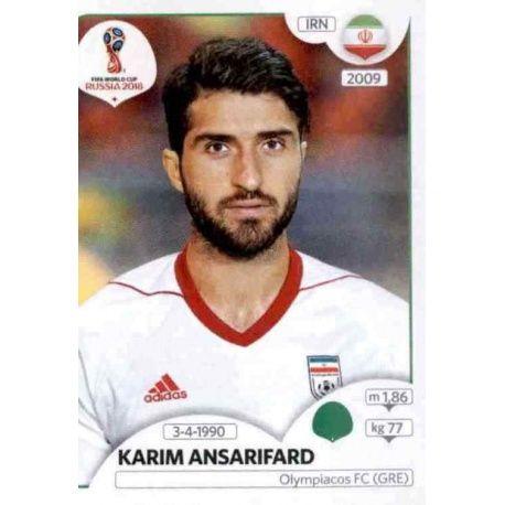 Karim Ansarifard Irán 189 Irán