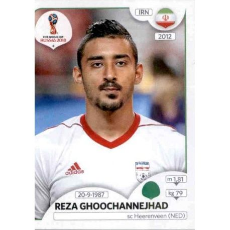 Reza Ghoochannejhad Irán 190 Irán