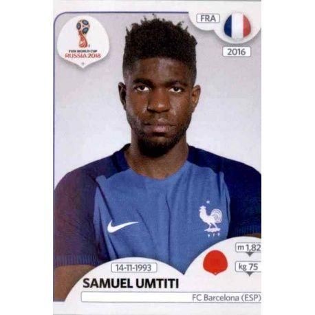 Samuel Umtiti Francia 198 Francia