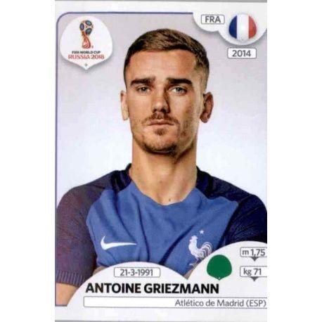 Antoine Griezmann Francia 207 Francia