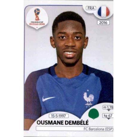 Ousmane Dembélé Francia 210 France