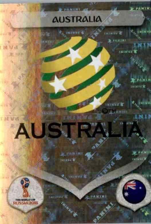 Sticker 216 Milos Degenek Panini WM 2018 World Cup Russia Australien