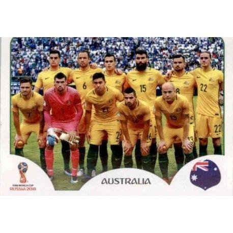 Alineación Australia 213 Australia
