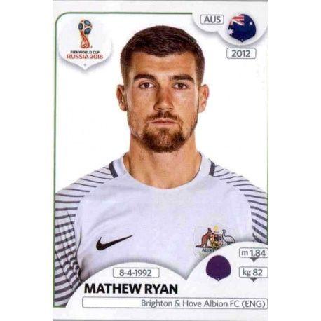 Mathew Ryan Australia 214 Australia