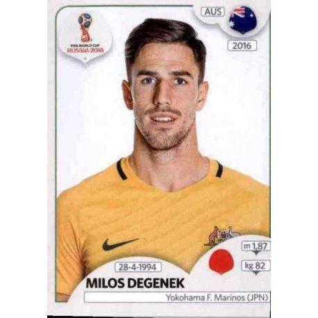 Milos Degenek Australia 216 Australia
