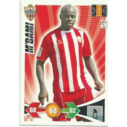 M'Bami Almeria 9 Adrenalyn XL La Liga 2009-10