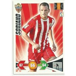 Soriano Almeria 10 Adrenalyn XL La Liga 2009-10