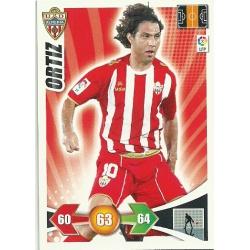 Ortiz Almeria 11 Adrenalyn XL La Liga 2009-10