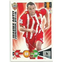 Juanma Ortiz Almeria 12 Adrenalyn XL La Liga 2009-10