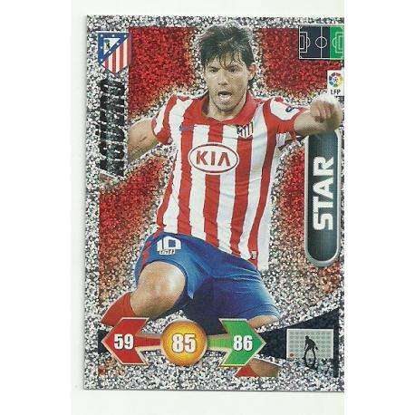 Agüero Atlético Madrid 53 Adrenalyn XL La Liga 2009-10