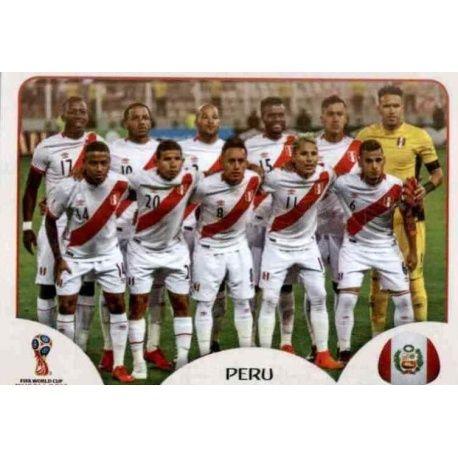 Alineación Peru 233 Peru