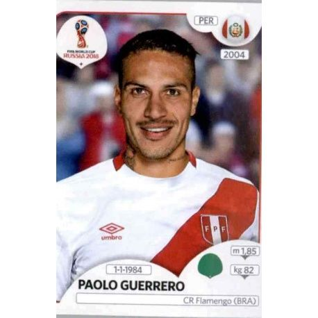 Paolo Guerrero Peru 248 Peru