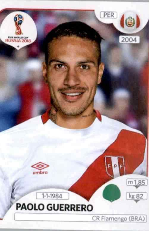 Pedro Gallese Peru Sticker 234 Panini WM 2018 World Cup Russia