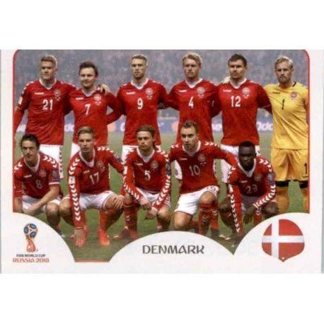 Alineación Dinamarca 253 Dinamarca