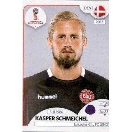Kasper Schmeichel Dinamarca 254 Dinamarca