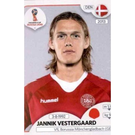 Jannik Vestergaard Dinamarca 255 Dinamarca