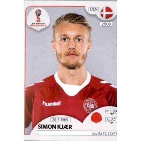 Panini WM 2018 World Cup Russia Sticker 267 Dänemark Pione Sisto