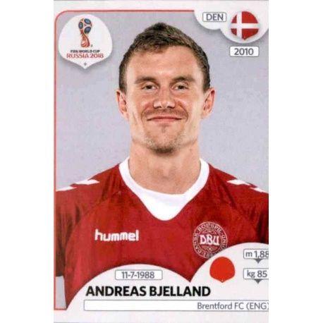 Andreas Bjelland Dinamarca 258 Dinamarca