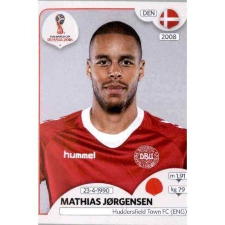 Mathias Jørgensen Dinamarca 259 Dinamarca