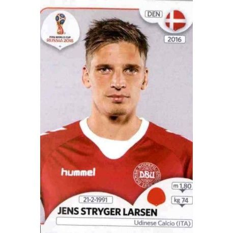 Jens Stryger Larsen Dinamarca 260 Dinamarca