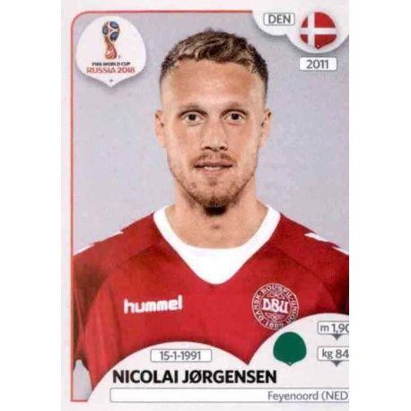 Nicolai Jørgensen Dinamarca 269 Denmark