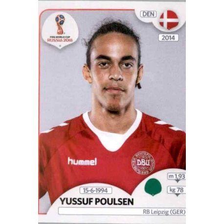 Yussuf Poulsen Dinamarca 270 Dinamarca