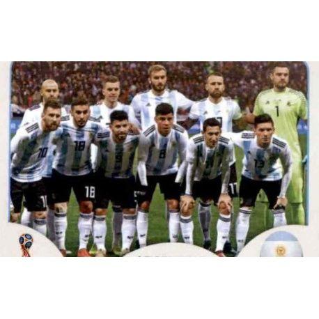 Alineación Argentina 273 Argentina