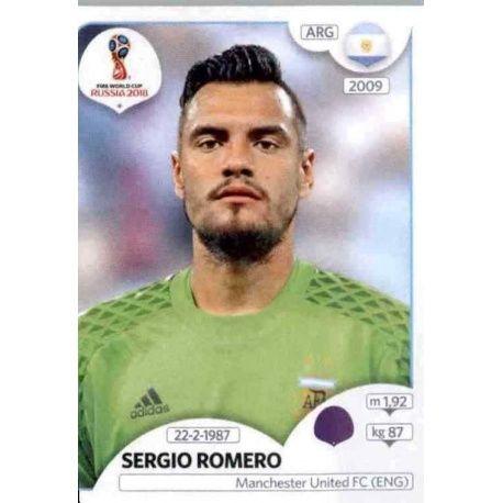 Sergio Romero Argentina 274 Argentina